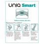 PRESERVATIVOS | UNIQ SMART PRE-ERECTION FREE LATEX 3UDS Prazer 24 ®